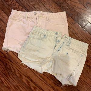 Gap Jean Shorts Bundle